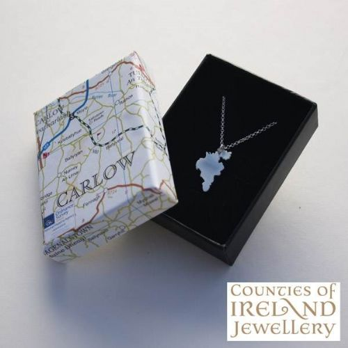 County Carlow Map Pendant